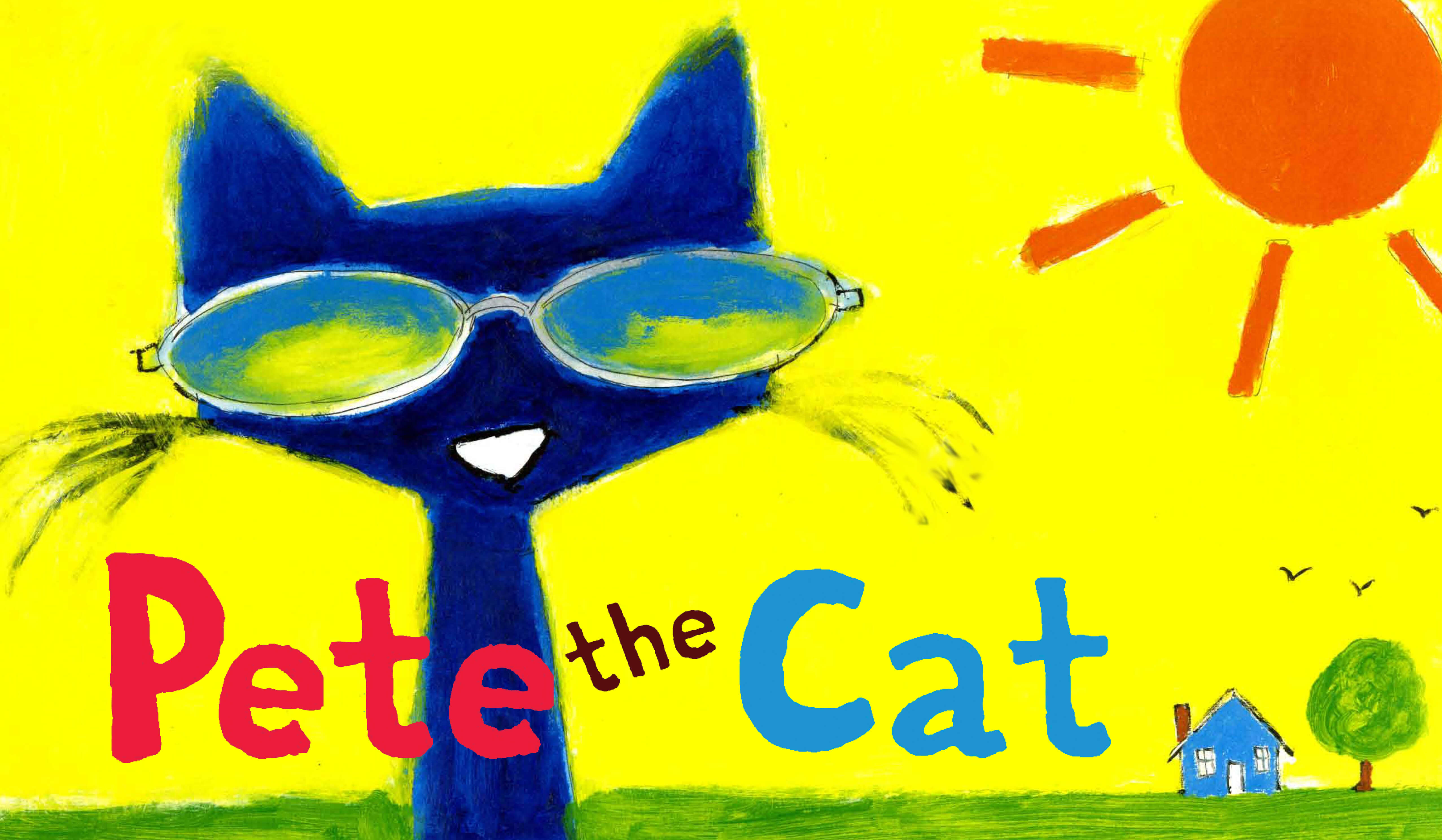 Pete the cat i love my shoes clipart