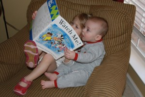 Kindermusik kids reading