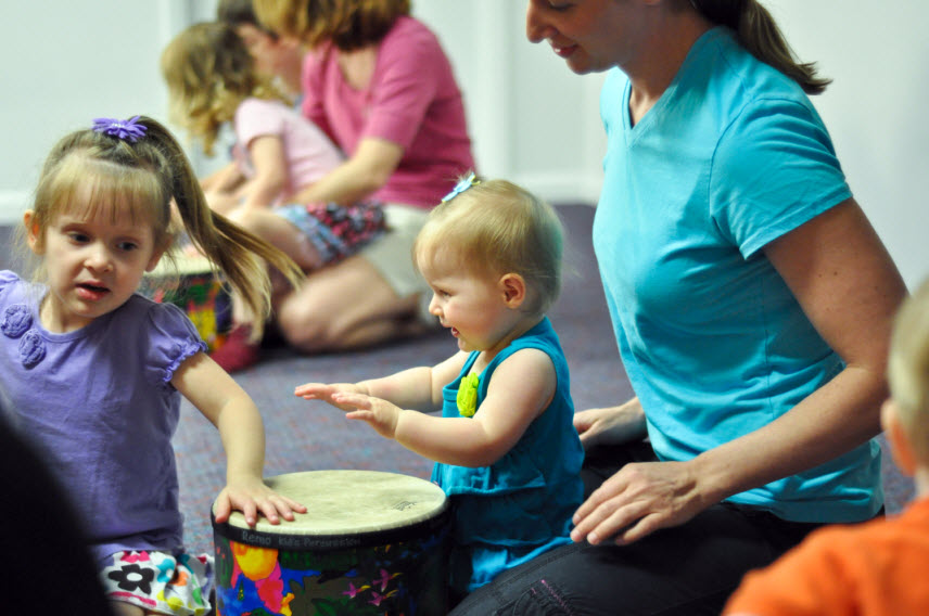 Kindermusik Class - Making Music Togther