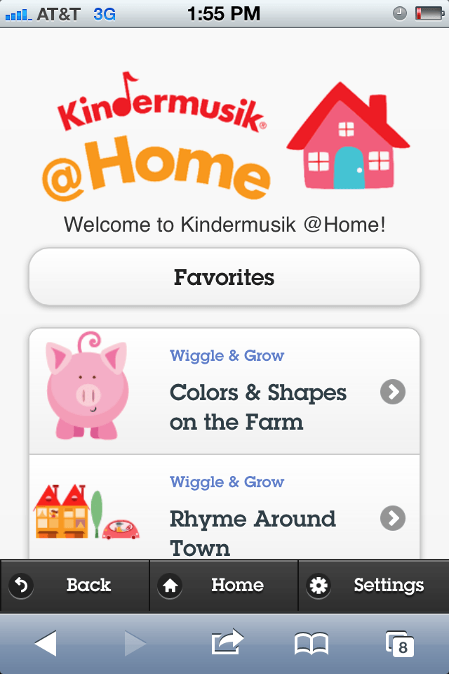 Kindermusik Digital Learning Platform for Kids