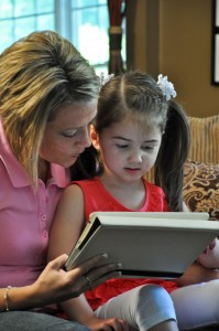 Using eBooks with children