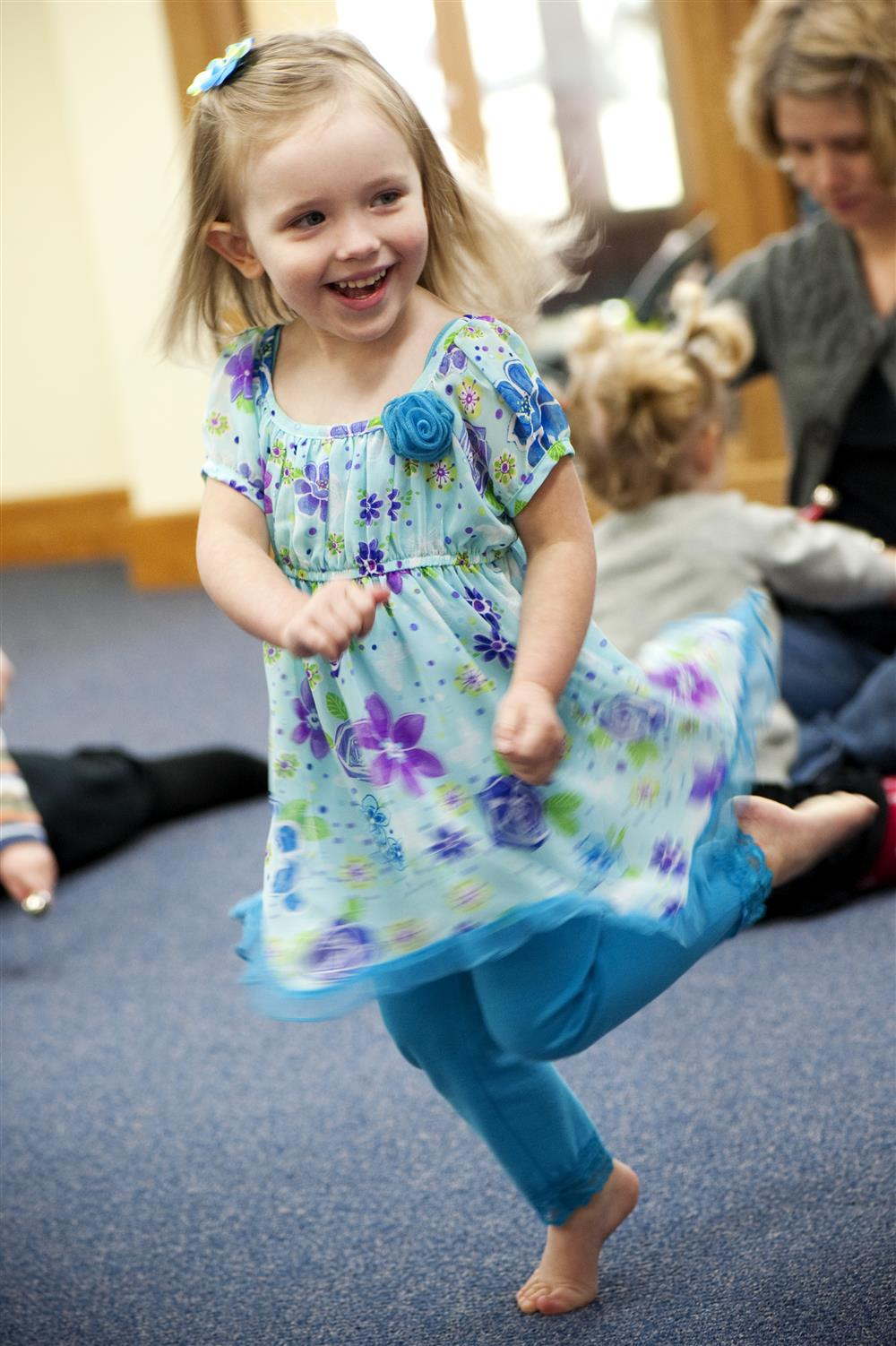 Move for fun, move to learn! - Kindermusik