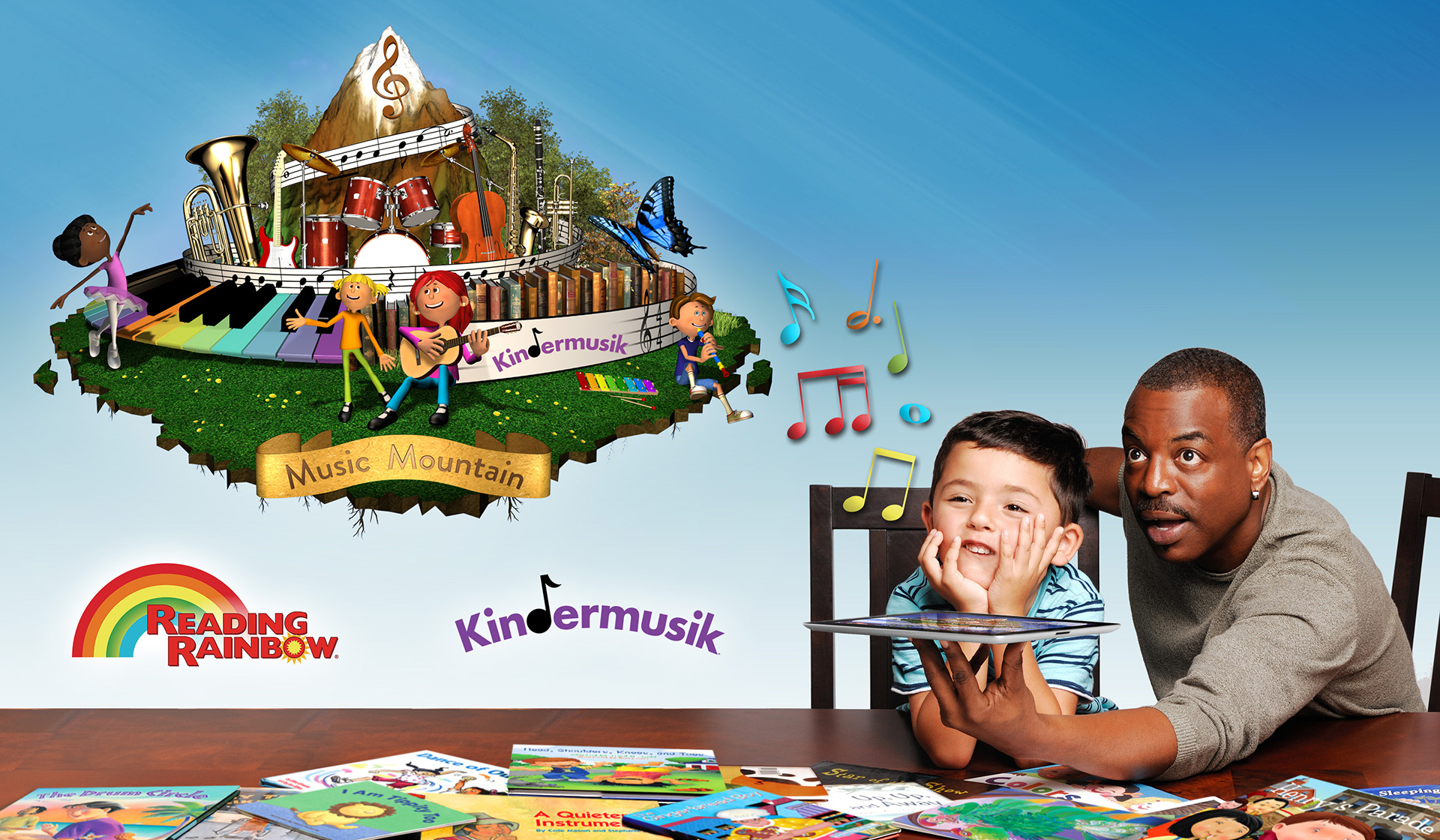 Leading Education Brands Reading Rainbow and Kindermusik International Partner to Build Early Literacy Skills in Children
