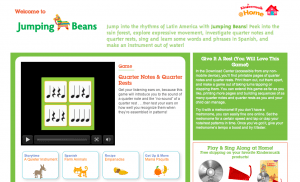 Jumping beans Kindermusik@Home