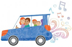 the musical family car