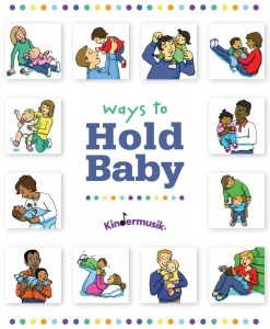 ways to hold baby poster