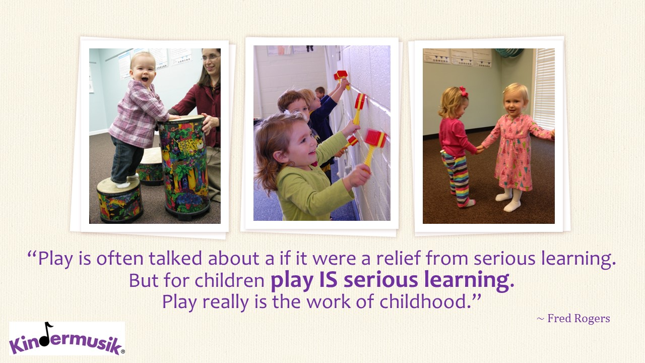 Play is the work of childhood.