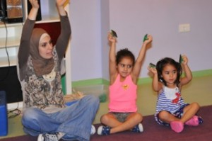Kindermusik Class in Beirut