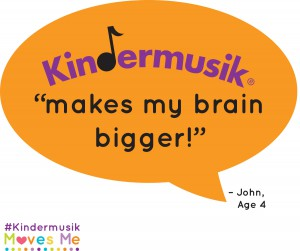 Kindermusik Makes My Brain Bigger