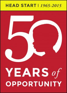 50 years of Head Start Logo