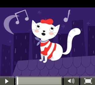 Scat Cat Kindermusik@Home activity