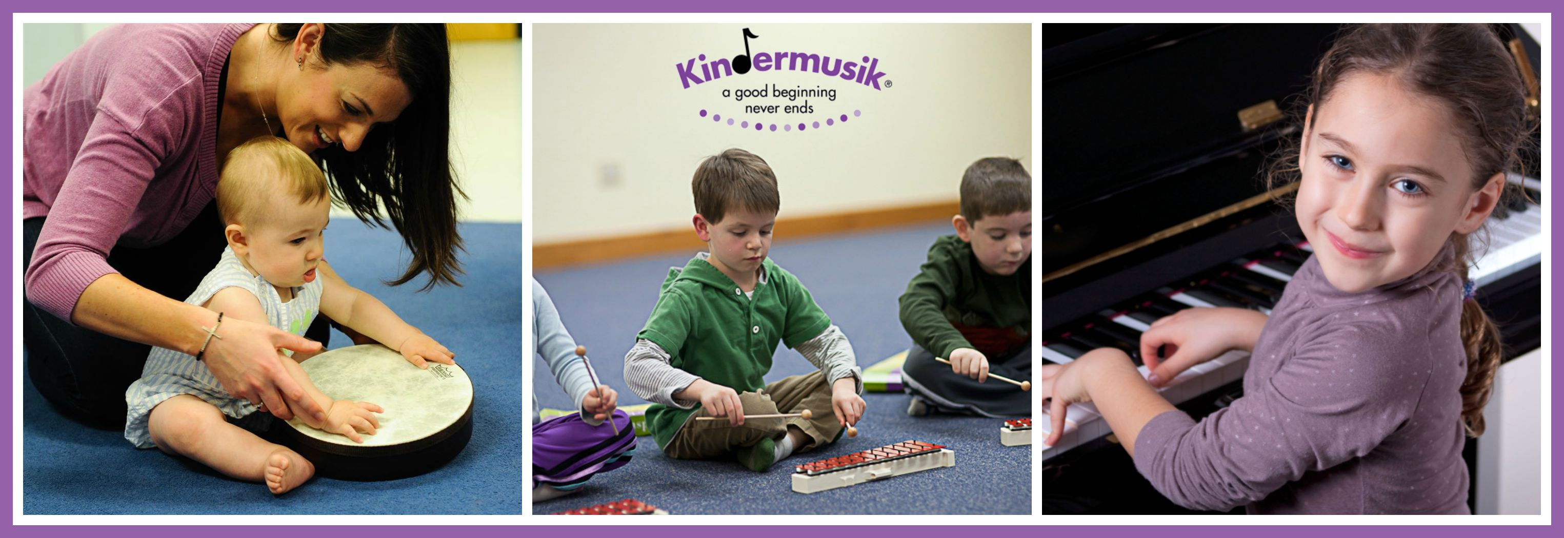 Kindermusik prepares kids for music lessons