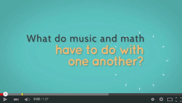 What Do Music & Math Have to Do with One Another?