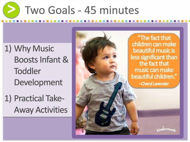 Using Music to Boost Infant and Toddler Development