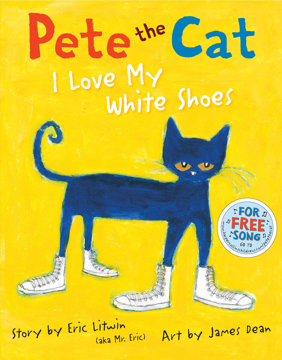 Book Review: Pete the Cat – I Love my White Shoes