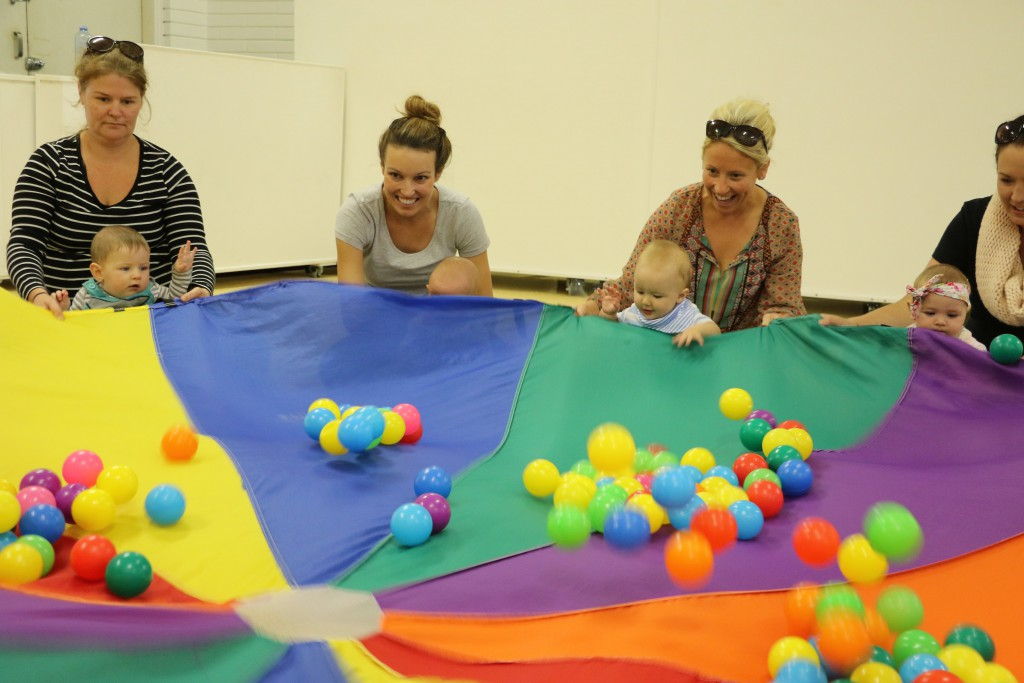 "Parents and children ""have a ball"" at Hive Creative Studios."
