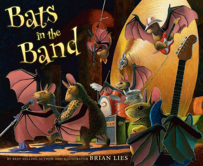Halloween Book Review: Bats in the Band