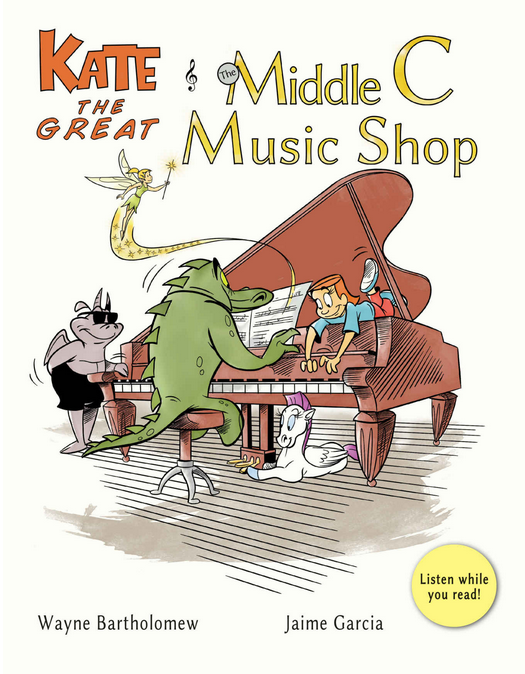 Book Review: Kate the Great and the Middle C Music Shop